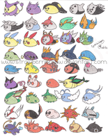 Mameshiba Pokemon Project 8 by StrawberrieMew