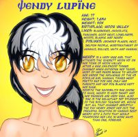 Wendy Bio by Lonebeatle