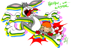 Happy, uh... Easter 2014 by Lotusbandicoot