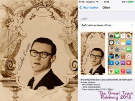 Bruce Reynolds (star. Luke Evans) mobile wallies 2 by RenStrangel