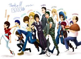 Super Junior-13,000 pageview by Labapo999