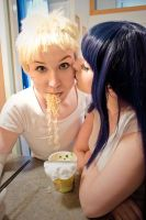 [Cosplay] NaruHina [TL/Home] - I by SunwardLight