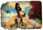 Alice in the Vale of Tears - Version 01 by Dorchette