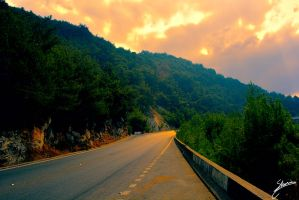 Road to paradise by SHUSHULB