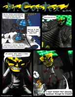 Dr. Cortex - full color comic by JenL