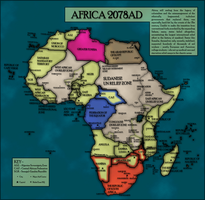 Dystopian future Africa - FH map by SRegan