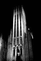 United Methodist Church: Night by Yuki-Sasaki