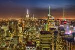 Manhattan from the top of the rock by arnaudperret