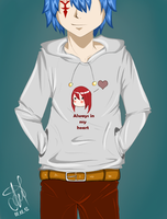 Jellal. Always in my heart by nastya98