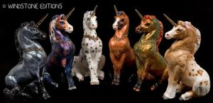 Grab bag Young unicorns by Reptangle