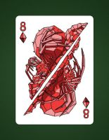 8 Of Diamonds aka 8 Of Earth by LineDetail