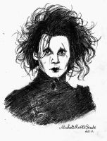 Edward Scissorhands by AlcoholicRattleSnake