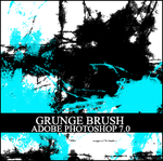 Grunge Photoshop brush by in-vogue