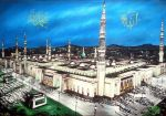 Mosque of beloved prophet by sam1r1