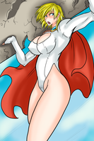 Power Girl by Ray-D-Sauce