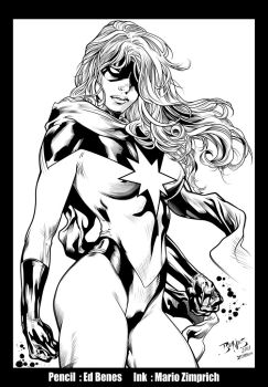 Miss Marvel INK by Zimprich