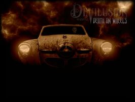 Death on wheels by D3vilusion