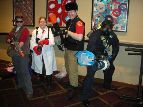 Team Fortress 2 photoshoot by riderman16