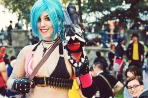 Jinx,the loose cannon! by JungleJulia91