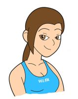 Wii Fit Tanner by AquaRaptor
