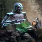 Burning Suns - Medical Droid by Ellixus