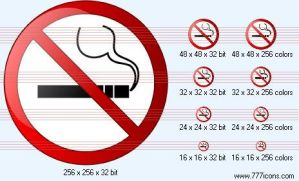 No smoking Icon by medical-icon-set