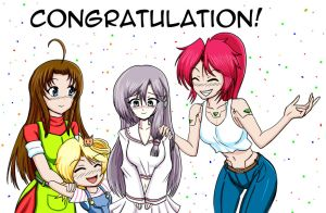 Congratulation Lucy! by Thurosis