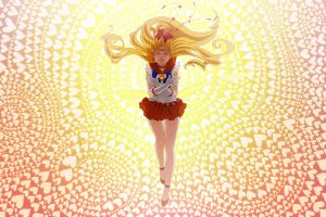 Sailor Venus Poster by skimlines