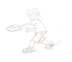 Frisbee Toss by Awesome-Leaf