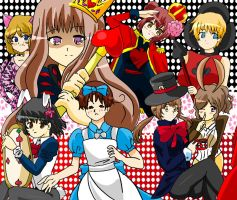 APH Italy in wonderland XD by XxHikaru00Xx