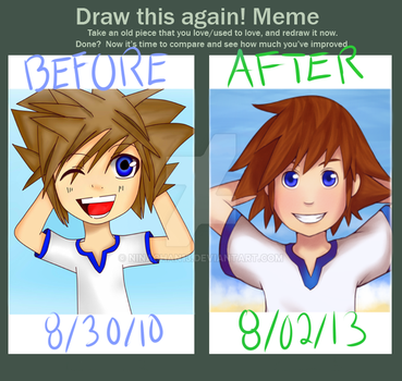 Young Sora Imrpvement by NinaChan13