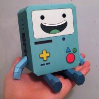 BMO Papercraft by n8s