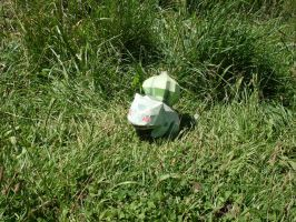 Catching a Bulbasaur by AZBY