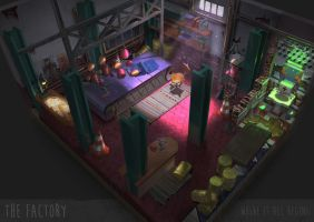 Thefactory set by LM-LucileMeunier
