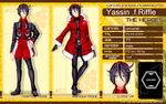 CR charsheet: yassin by sowelunee