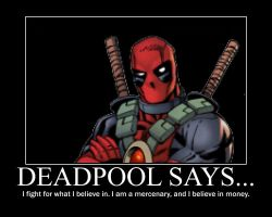 Deadpool Poster by 12kirby12