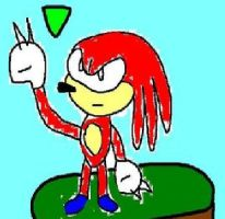 Knuckles the echidna by chasethehedgehog