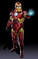 Iron Man by JonBolerjack