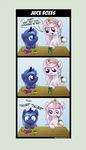 Comic - Tia and Woona - Juice Boxes by Helmie-D