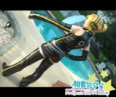 Project Diva 2nd: Len Kagamine by DeisCostumeCloset