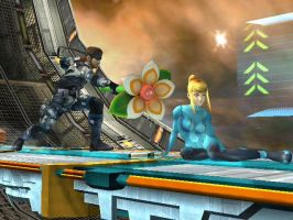 Flower for Samus by LadyMangatsuGallia90