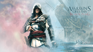 Edward Kenway_AC 4 Black Flag_Wallpaper by MissCaelum