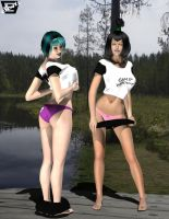 Camp Woody- Skinny Dipping Time by ImfamousE
