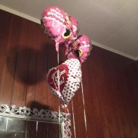 Minnie Mouse Balloons And I Love You Balloon... by SoniatheHedgehog365