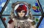 Cosmonaut by pink-pink