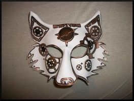 Arctic Gear Leather Wolf Mask by Jedi-With-Wings