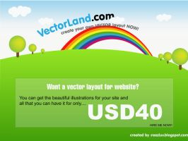 Vector Web Layout by reezluv