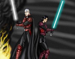 Generals Revan and Malak by JosephB222