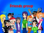 Friends group by yasmyn64