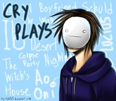 .:Cry Plays Fanart:. by Aikobo
